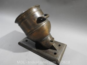 "P33864 300x225 Spanish Bronze 7 1/2"" Eprouvette Mortar Dated 1799"