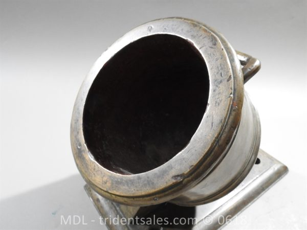 "P33865 600x450 Spanish Bronze 7 1/2"" Eprouvette Mortar Dated 1799"