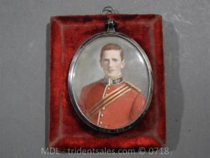 P50046 300x225 Miniature of British Officer's Kings Shropshire Light Infantry