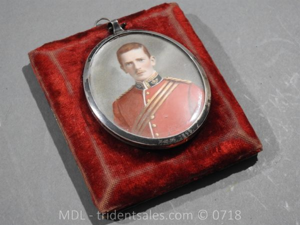 P50054 600x450 Miniature of British Officer's Kings Shropshire Light Infantry