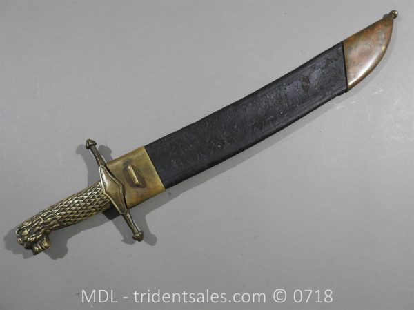 P50183 600x450 Spanish 1843 Pioneers / Artillery Officers version short Sword. 116