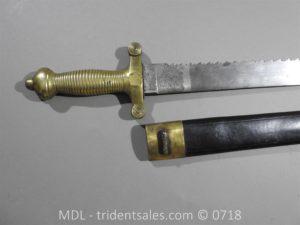 P50760 300x225 Swiss 1842 Infantry Pioneers Sidearm 46