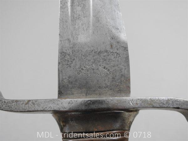 P50824 600x450 Saxony Artillery Sidearm c 1880 81