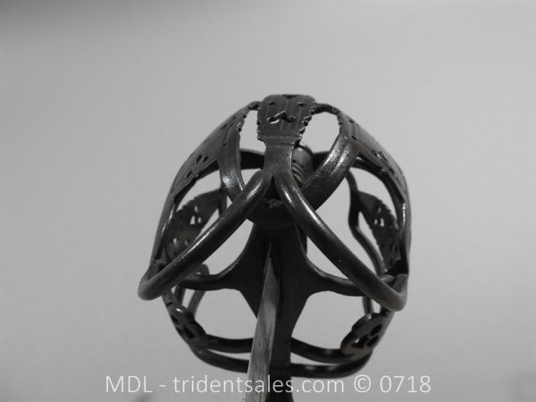 P51266 600x450 Scottish Basket Hilt Broad Sword