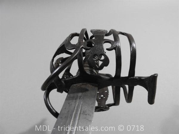 P51267 600x450 Scottish Basket Hilt Broad Sword