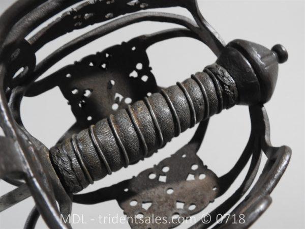 P51272 600x450 Scottish Basket Hilt Broad Sword