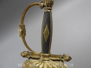 P51461 300x225 French Superior Officer's Blue and Gilt Epee