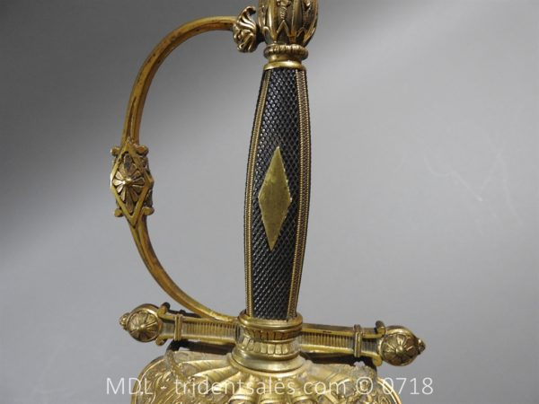 P51461 600x450 French Superior Officer's Blue and Gilt Epee