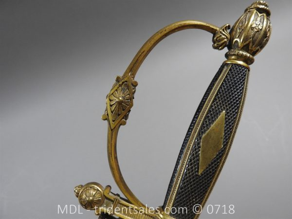 P51463 600x450 French Superior Officer's Blue and Gilt Epee