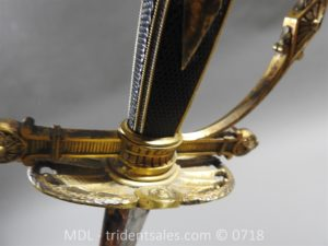P51466 300x225 French Superior Officer's Blue and Gilt Epee