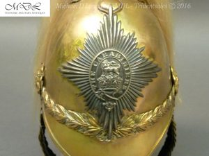 35 300x225 6th Dragoon Guards Officer's 1871 Pattern Helmet 007