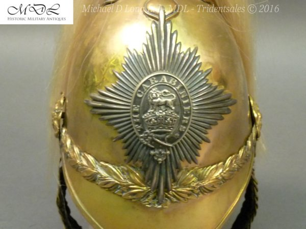 35 600x450 6th Dragoon Guards Officer's 1871 Pattern Helmet 007