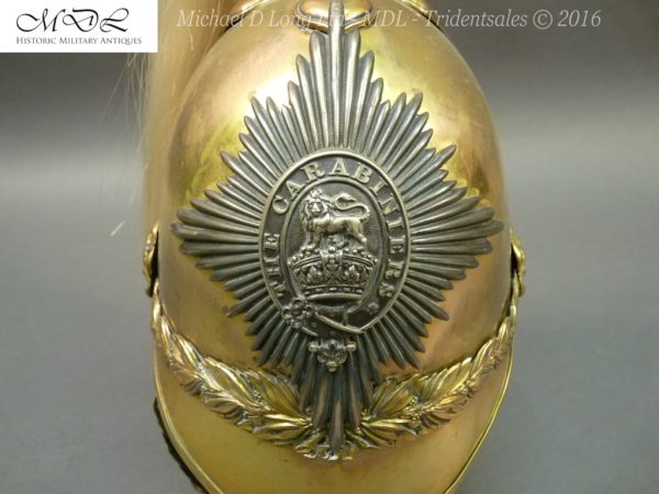 40 600x450 6th Dragoon Guards Officer's 1871 Pattern Helmet 007