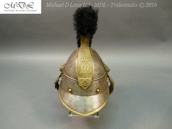 42 600x450 Bavarian Kurassier model 1845 Helmet 027