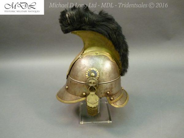 44 600x450 Bavarian Kurassier model 1845 Helmet 027