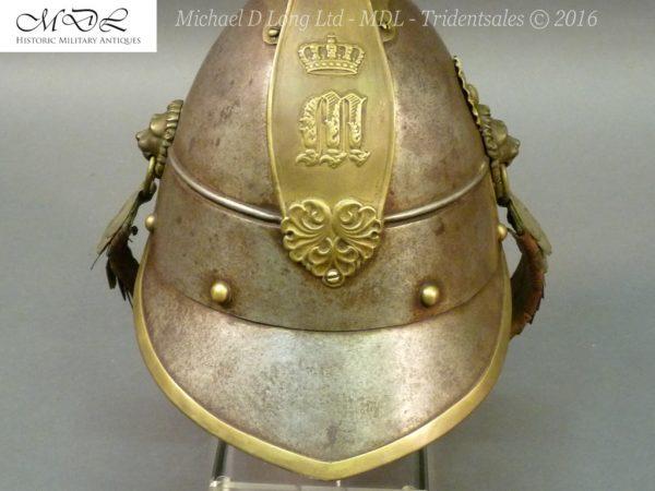 46 600x450 Bavarian Kurassier model 1845 Helmet 027