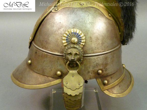 48 600x450 Bavarian Kurassier model 1845 Helmet 027