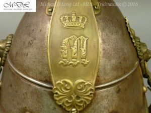 49 300x225 Bavarian Kurassier model 1845 Helmet 027