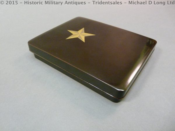 54 600x450 Japanese Military Presentation Lacquer Box