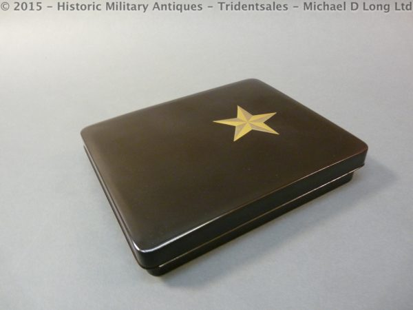 58 600x450 Japanese Military Presentation Lacquer Box