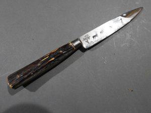 DSCN1695 300x225 Imperial German Etched Hunting Hanger