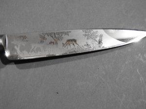 DSCN1696 300x225 Imperial German Etched Hunting Hanger
