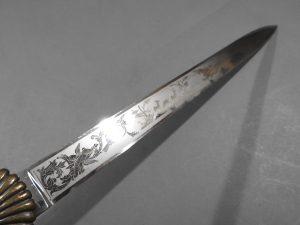 DSCN1702 300x225 Imperial German Etched Hunting Hanger