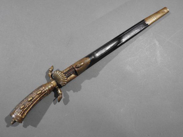 DSCN1710 600x450 Imperial German Etched Hunting Hanger
