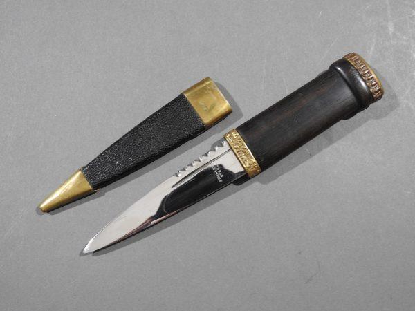 DSCN2430 600x450 Scottish Black Watch Sgian Dubh