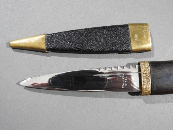 DSCN2431 600x450 Scottish Black Watch Sgian Dubh