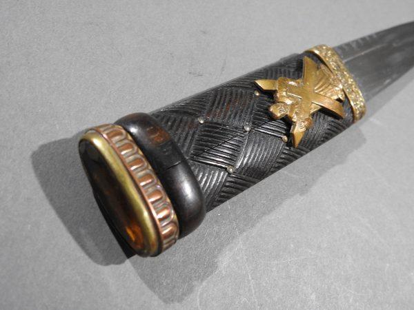 DSCN2433 600x450 Scottish Black Watch Sgian Dubh