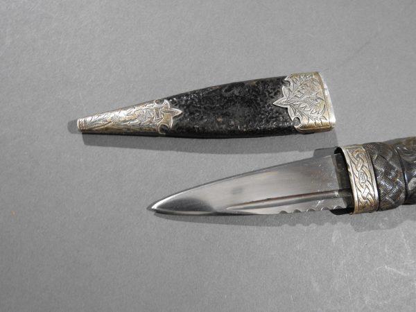 DSCN2467 600x450 Scottish Silver Hallmarked Sgian Dubh
