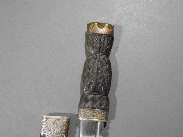 DSCN2469 600x450 Scottish Silver Hallmarked Sgian Dubh