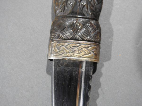 DSCN2472 600x450 Scottish Silver Hallmarked Sgian Dubh