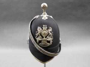 DSCN3587 300x225 Midlothian Coast Artillery Officer's Blue Cloth Helmet