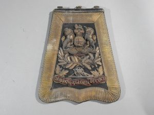 DSCN4897 300x225 Royal Artillery Victorian Officers Sabretache and Pouch