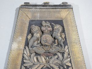 DSCN4898 300x225 Royal Artillery Victorian Officers Sabretache and Pouch