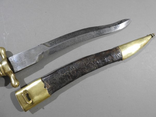 DSCN5615 600x450 Spanish Naval Boarding Knife c 1860