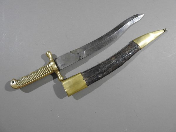 DSCN5616 600x450 Spanish Naval Boarding Knife c 1860
