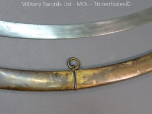 P1010428 300x225 English Officers 1796 Sword Brass Hilt and Scabbard
