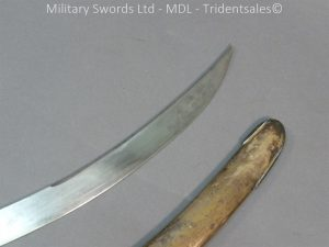 P1010429 300x225 English Officers 1796 Sword Brass Hilt and Scabbard