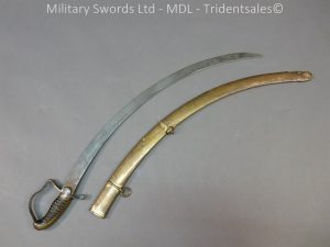 P1010430 300x225 English Officers 1796 Sword Brass Hilt and Scabbard
