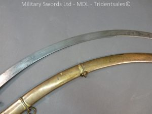 P1010432 300x225 English Officers 1796 Sword Brass Hilt and Scabbard