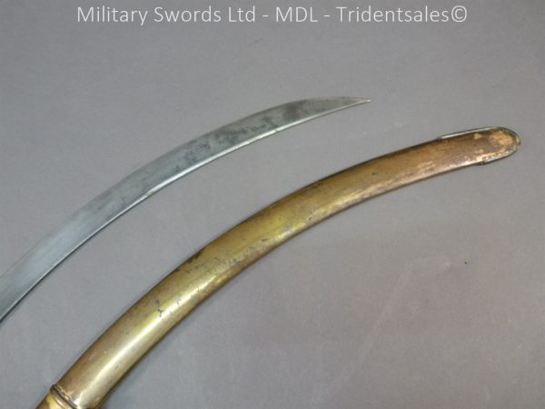 P1010433 600x450 English Officers 1796 Sword Brass Hilt and Scabbard
