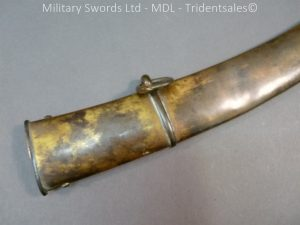 P1010434 300x225 English Officers 1796 Sword Brass Hilt and Scabbard