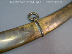 P1010435 300x225 English Officers 1796 Sword Brass Hilt and Scabbard
