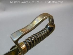 P1010442 300x225 English Officers 1796 Sword Brass Hilt and Scabbard