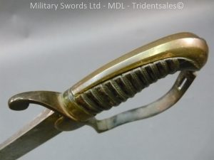 P1010446 300x225 English Officers 1796 Sword Brass Hilt and Scabbard