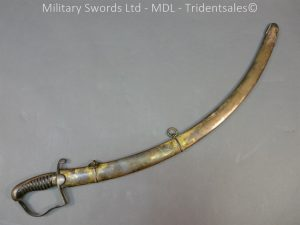 P1010448 300x225 English Officers 1796 Sword Brass Hilt and Scabbard