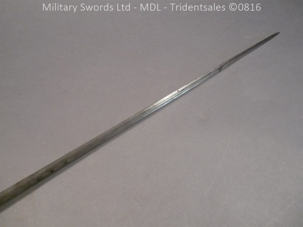 P1060218 600x450 Silver Hilted English 18th Century Sword